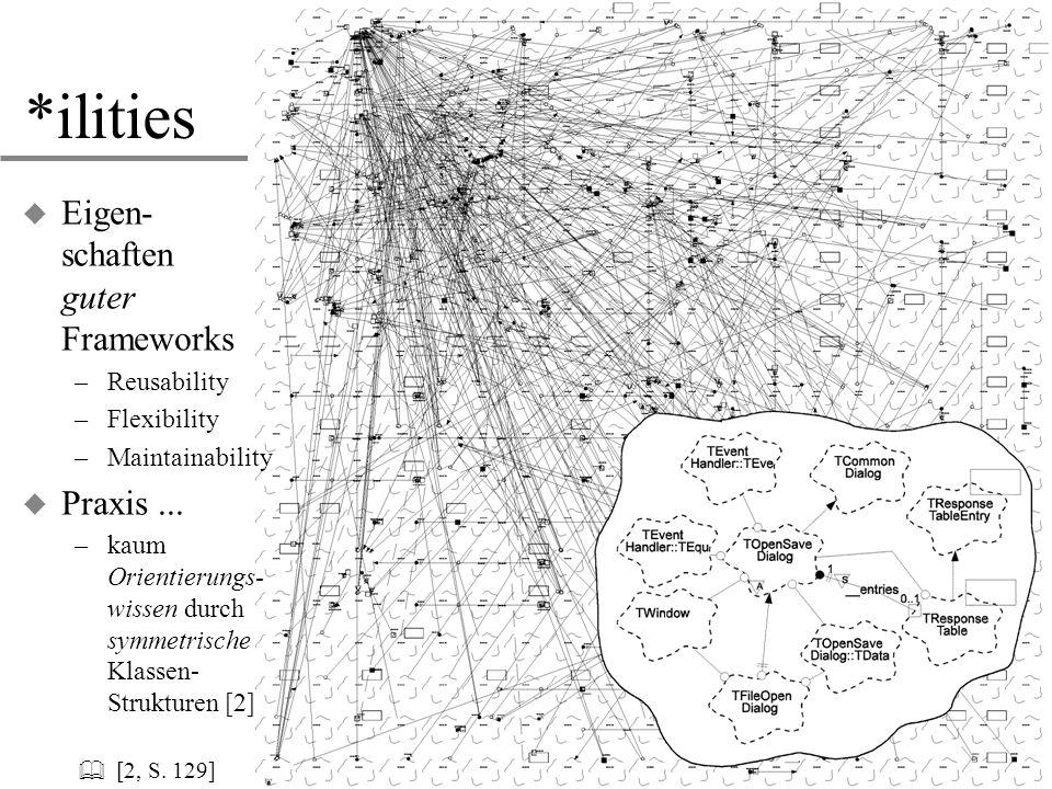 *ilities Eigen- schaften guter Frameworks Praxis ... & [2, S. 129]